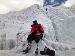 攀登者热映 揭角色原型70岁无腿老人夏伯渝