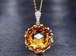 黄水晶的颜色是天然的吗?什么颜色的黄水晶价值最高