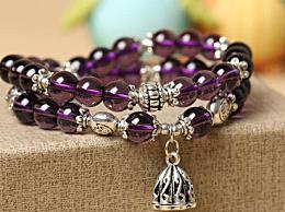 紫水晶手链该如何佩戴?佩戴水晶手链的讲究