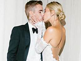 比伯海莉婚纱照 比伯海莉正式结婚