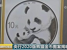 """2020版熊猫金币图案揭晓 熊猫币母子熊猫图""""吸粉""""无数"""