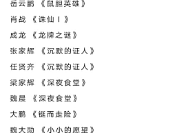 金扫帚奖提名名单都是大牌 肖战孟美岐李沁凭《诛仙1》全部入选
