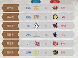 lolS9总决赛小组赛赛程分组表 2019 S9全球总决赛赛程安排