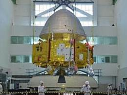 火星探测器亮相 中国火星探测器首次公开真容