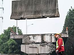 无锡成立侧翻桥事故调查组 无锡高架桥事故现场清理完成