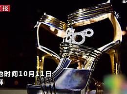 高跟鞋镶上钻石和陨石 售价高达1亿4千万元