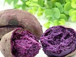 紫薯切开后有白点能吃吗?紫薯切开后为什么会有白点
