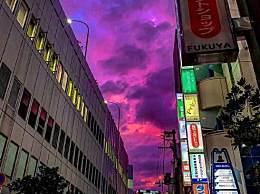 日本天空宛如魔界因19号台风逼近 网友:哪位道友在此渡劫