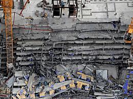美国在建酒店倒塌 致1死18伤