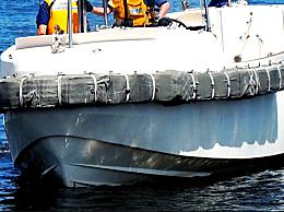 因海贝思载中国船员货船在日本近海沉没 4人获救8人失踪