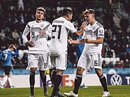 欧预赛德国3-0胜爱沙尼亚 进球精彩瞬间回顾