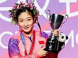 刘诗雯成乒乓球世界杯五冠王 国乒天才少女横空出世