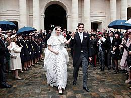 法国举办世纪婚礼 拿破仑后人与奥地利女公爵联姻