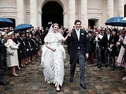 法国举办世纪婚礼 两大家族再度联姻场面豪华