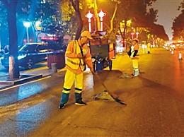 环卫工人节日快乐 用勤劳双手维护城市整洁