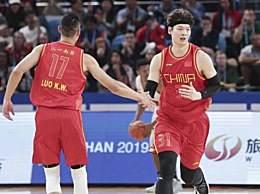 中国男篮获铜牌 68-64击败巴西队