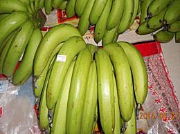 绿皮香蕉能吃吗 是什么品种 吃绿皮香蕉的危害介绍