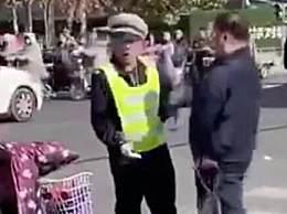 老人闯红灯被阻 袭击交警被捕大快人心