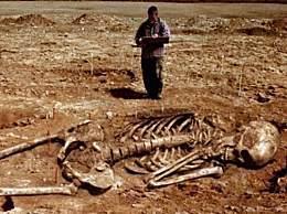 探秘史前巨型骷髅 史前巨人竟真实存在