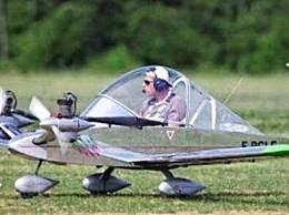 世界上最小的飞机 长3.9米能载一人