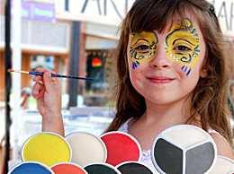 万圣节小孩子怎么化妆?万圣节儿童可爱妆容图片