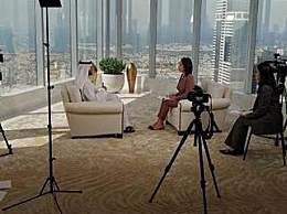 沙漠硬核生活公开 迪拜酋长公开沙漠奢侈生活