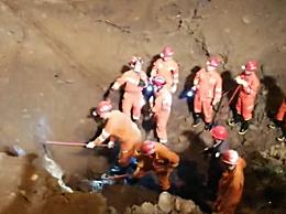 四川夹江工地垮塌 现场救援详情两名遇难者确认死亡