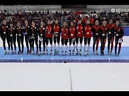 中国女子接力夺冠 获短道世界杯盐湖城站第二枚金牌