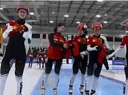 中国女子接力夺冠 收获新赛季世界杯第二枚金牌