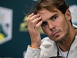 纳达尔因伤退赛 纳达尔退出ATP巴黎大师赛半决赛争夺