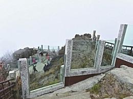 峨眉山防轻生玻璃墙 尽可能减少轻生事件