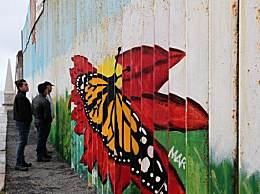 非法移民破墙入美 特朗普回应隔离墙易修补