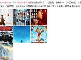 2020年春节档阵容发布有哪些电影上映?电影排片怎么决定的