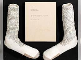 杰克逊水晶袜拍卖 数额或可达到200万