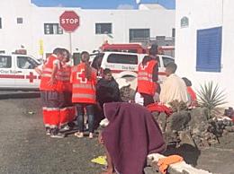 西班牙偷渡船失事致9死 因巨浪救援受阻