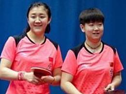 女乒世界杯四强 中国女乒3:0战胜美国队