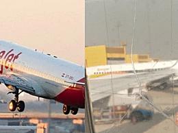 机窗裂粘后继续飞 飞机神操作让乘客不安