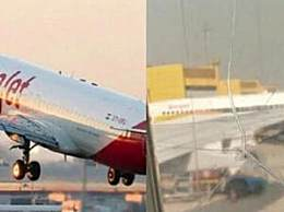 机窗裂粘后继续飞 印度航空这波操作好生猛