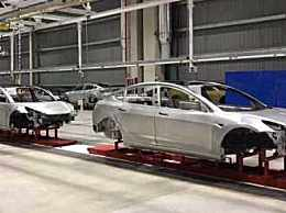 特斯拉上海工厂竣工 年底将正式量化生产