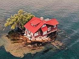 世界上最小的岛 出门就是海