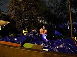 巴黎清除移民营地 法国想夺回移民控制权
