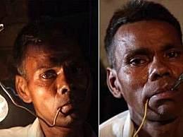 奇闻!印度惊现电人 不吃饭充电就能饱