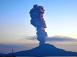 日本樱岛火山喷发高度达5500米 火山喷发是怎样形成的?能否预测?