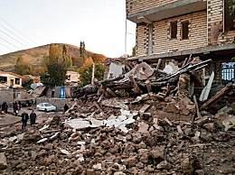 伊朗5.9级地震 已造成5人死亡300多人受伤