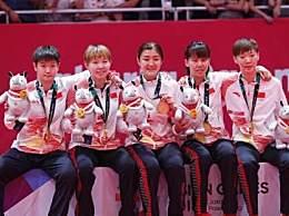 国乒女队晋级4强 轻松吊打美国队