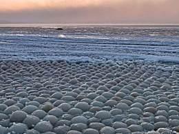 芬兰海滩万颗冰蛋 芬兰海滩万颗冰蛋是哪里来的