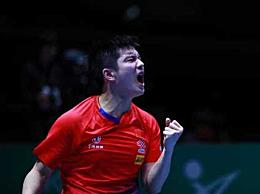 乒乓球八连冠 中国男团3:1韩国夺冠