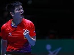 中国男乒八连冠 团体世界杯3:1力克韩国队登顶