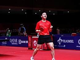 中国男乒8连冠 中国男乒3-1胜韩国队夺冠