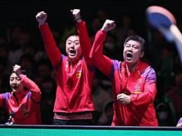 中国女乒九连冠 横扫东道主日本队实力太强悍